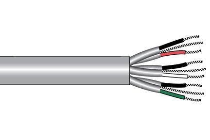 6052C-SL005 ALPHA WIRE | Cable Multi-Conductor