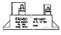 K81AB57 by TE Connectivity / Kilovac Brand